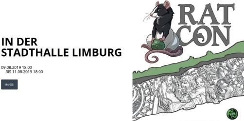 Banner der RatCon 2019 in Limburg (09.08 bis 11.08)