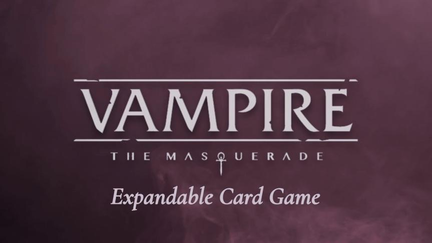 Vampire: Die Maskerade – Ankündigung eines erweiterbaresKartenspiels