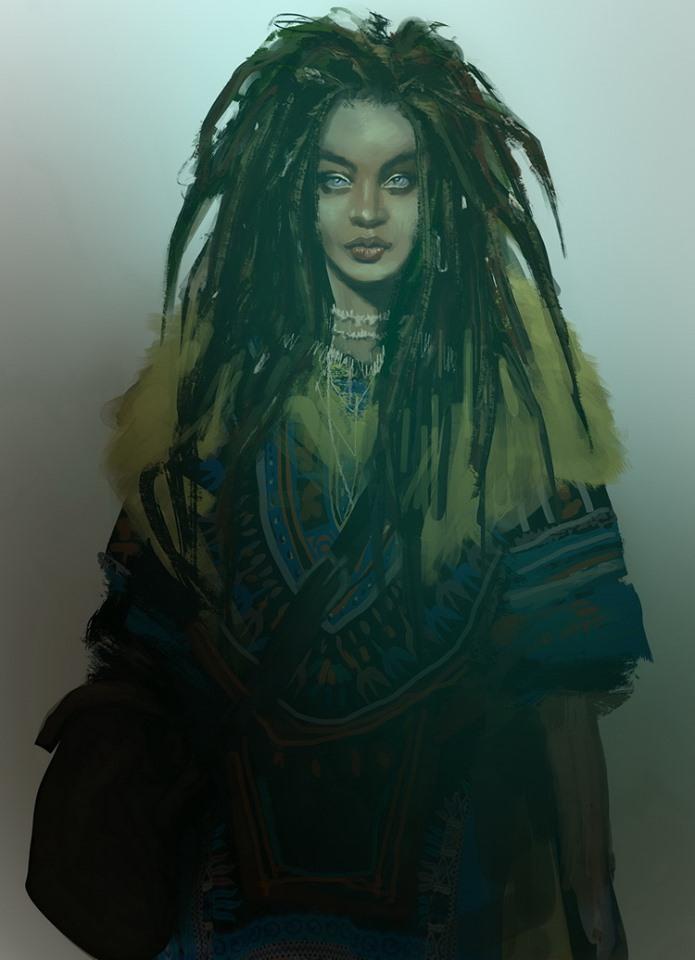 Vampire: The Masquerade - Coteries of New York - Charakterbild: Tamika, Gangrek