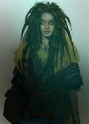 Vampire: The Masquerade - Coteries of New York - Charakterbild: Tamika, Gangrek