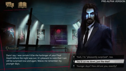 Vampire: The Masquerade - Coteries of New York - Pre-Alpha Szene: Begegnung mit Quadir