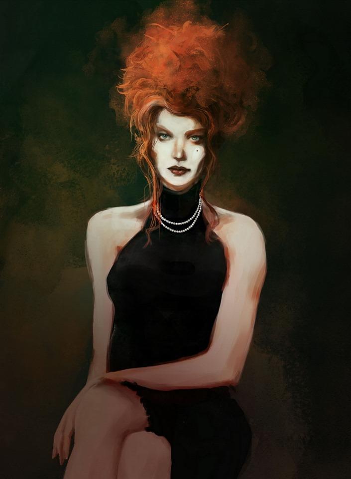 Vampire: The Masquerade - Coteries of New York - Charakterbild: Valerie, Ventrue