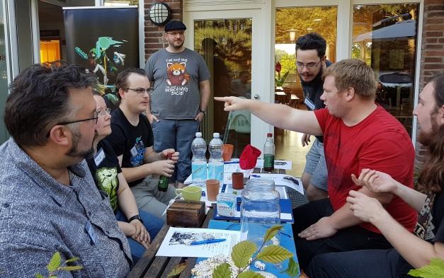 NerdCon - Eine Spielrunde draußen
