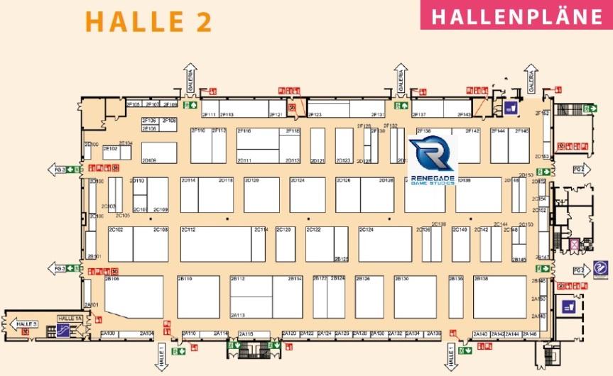 SPIEL2019 - Halle 2 - Renegade Game Studios