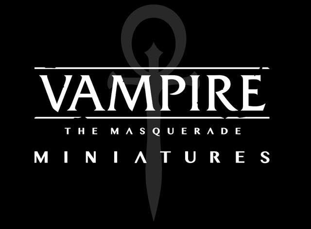 Vampire: The Masquerade - Miniatures - Modiphius kündigt Miniaturen für Vampire: Die Maskerade 5. Edition an - Ankündiungsgraphik