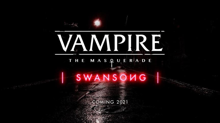Videospiel-Ankündigung: Vampire: The Masquerade –Swangsong