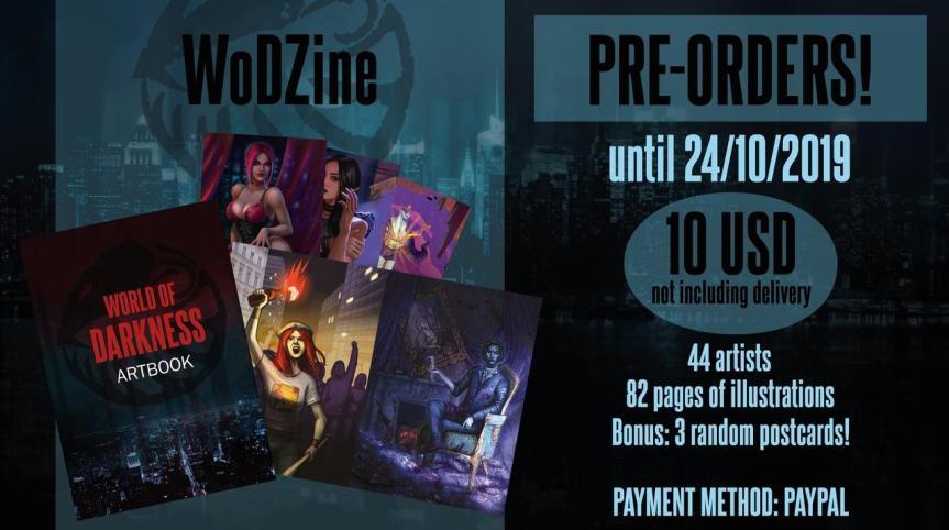 WoDzine - Ankündigungsgraphik für die Vorbestellung (24/10/2019)