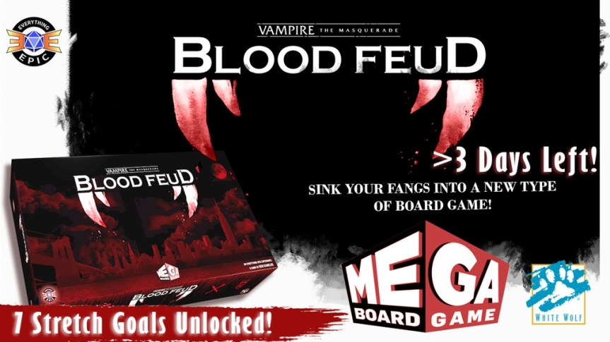 Kickstarter-Vorstellung: Vampire – Blood Feud ein Mega Board Game