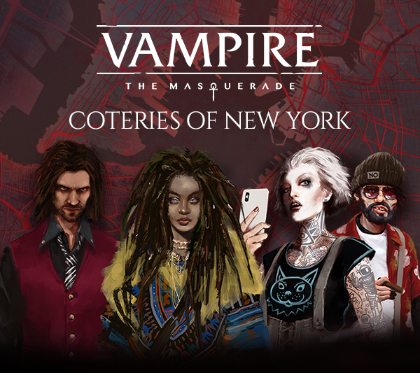 Coteries of New York - Graphik mit allen Companions