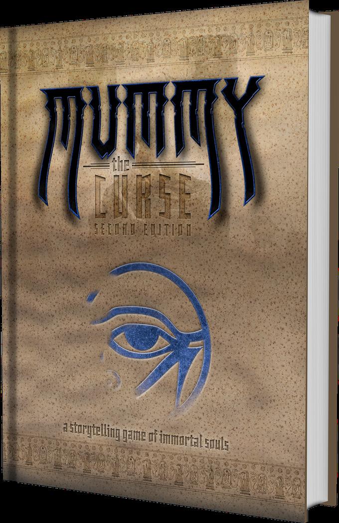 Mummy: The Curse 2nd Edition - Buch MockUp