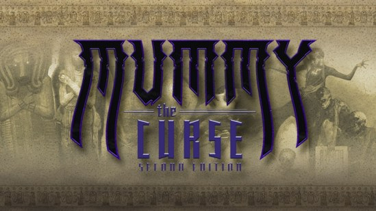 Mummy: The Curse 2nd Edition - Chronicles of Darkness - Kickstarter Vorschaubild