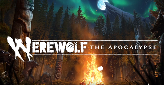 Werewolf: The Apocalypse - Hunters Entertainment - 5th Edition Header