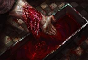 V5 Cults of the Blood Gods - Illustration von Michele Giorgi