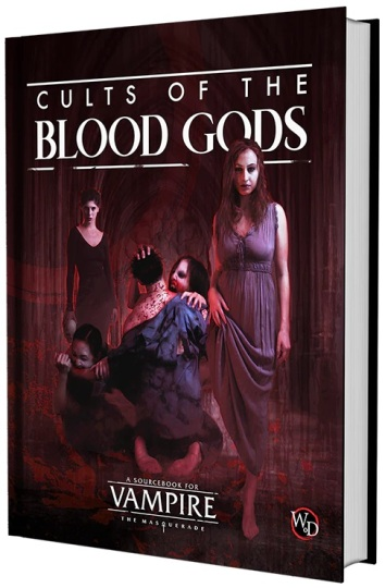 V5 Cults of the Blood Gods - MockUp des Buches