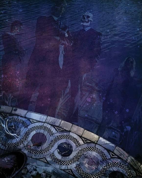 V5 Cults of the Blood Gods - Illustration von Michael Gaydos