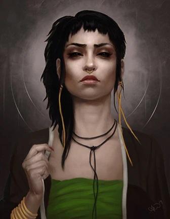V5 Cults of the Blood Gods - Illustration von Amy Wilkins