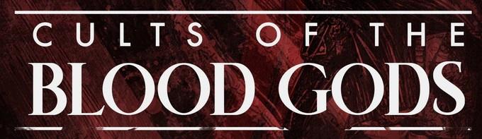 V5 Cults of the Blood Gods - Schriftzug
