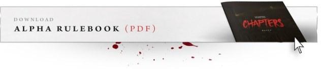 Vampire: The Masquerade Chapters - Link zu dem Alpha Regelbuch