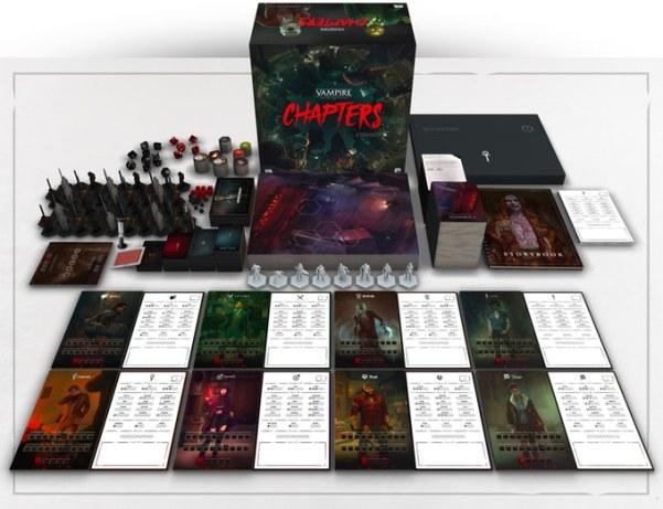 Vampire: The Masquerade Chapters - Boxinhalt