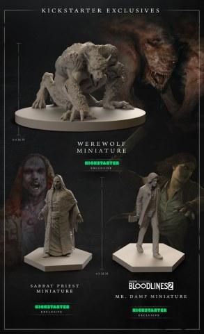 Vampire: The Masquerade Chapters - Kickstarter Exklusive Miniaturen