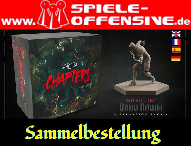 Vampire The Masquerade – CHAPTERS: Weiterer Sammelpledge mit Rabatt & Tag 1 Rewards!