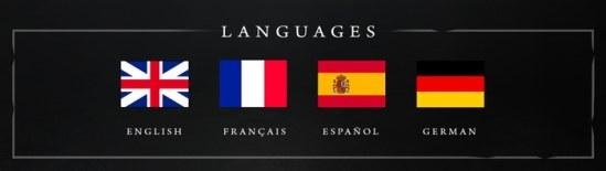 Vampire: The Masquerade Chapters - Sprachen (Englisch, Französisch, Spanisch, Deutsch)