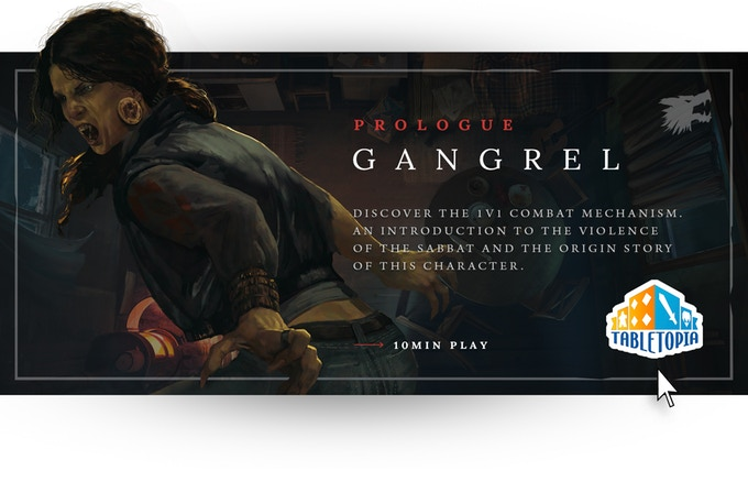 Vampire: The Masquerade Chapters - Gangrel Prologue auf TableTopia (Kampf)