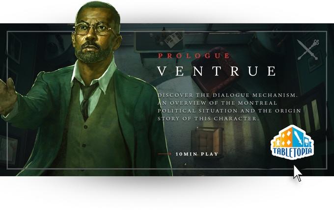 Vampire: The Masquerade Chapters - Ventrue Prologue auf TableTopia (Sozial)