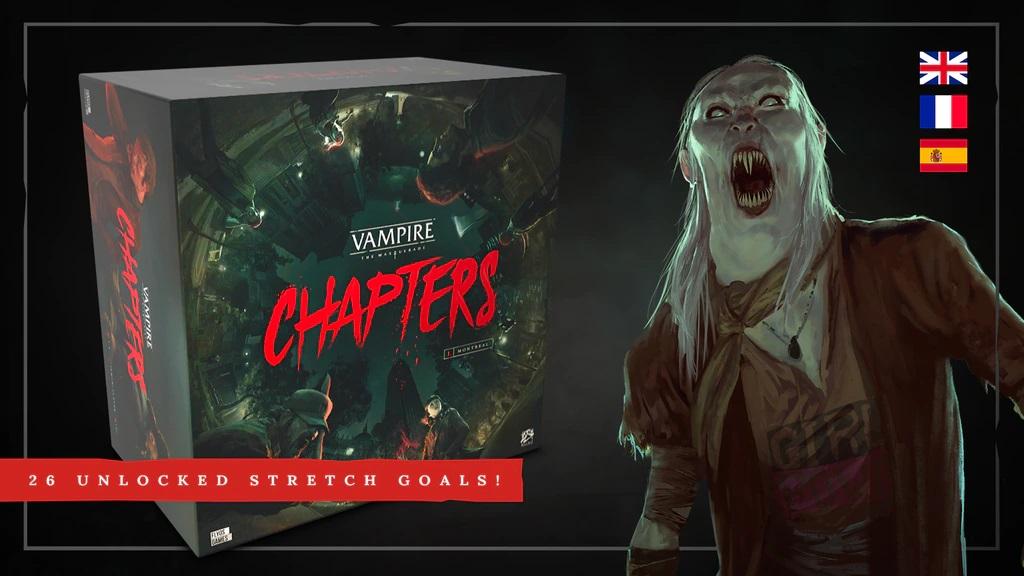 Vampire: The Masquerade Chapters - Kickstarter Thumbnail