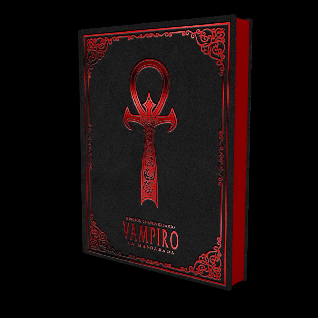 Vampire: Die Maskerade Jubiläumsausgabe - V20 - Ultra Deluxe / Golconda Fassung aus Spanien