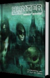 Hunter: The Vigil 2nd Edition - MockUp des Buches