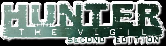 Hunter: The Vigil 2nd Edition - Schriftzug