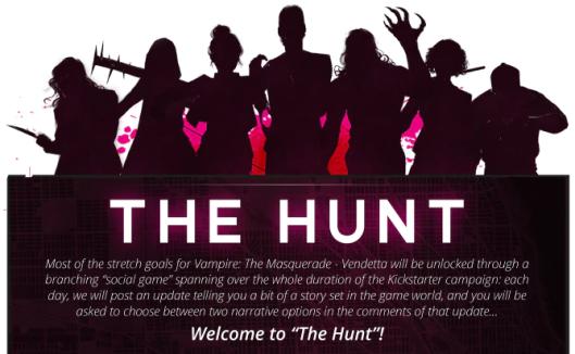 Vampire: The Masquerade - Vendetta - Die Jagd nach Stretch Goals