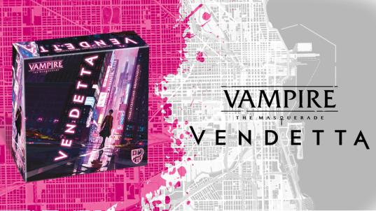 Vampire: The Masquerade - Vendetta - Kickstarter Graphik