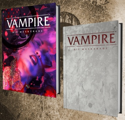 Vampire: Die Maskerade 5.te Edition - Grundregelwerk Deutsch (MockUp)
