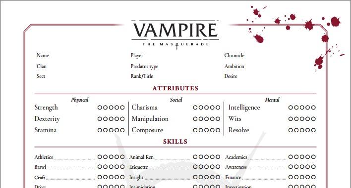 Artikel Graphik - Ausschnitt des Charakterbogen Version von Nerdbert