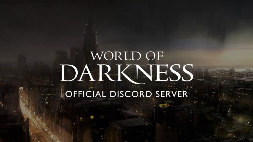Offizieller World of Darkness Discord + Deutsche WoD/VTESDiscords