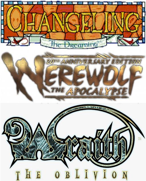 YouTube (EN): Einführungen in Wechselbalg, Werwolf undWraith