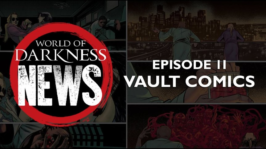 Offizielle World of Darkness News: Episode 2 – Trefft die ComicAutoren