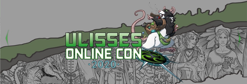 Ulisses Online Convention 2020 - Webseiten Banner