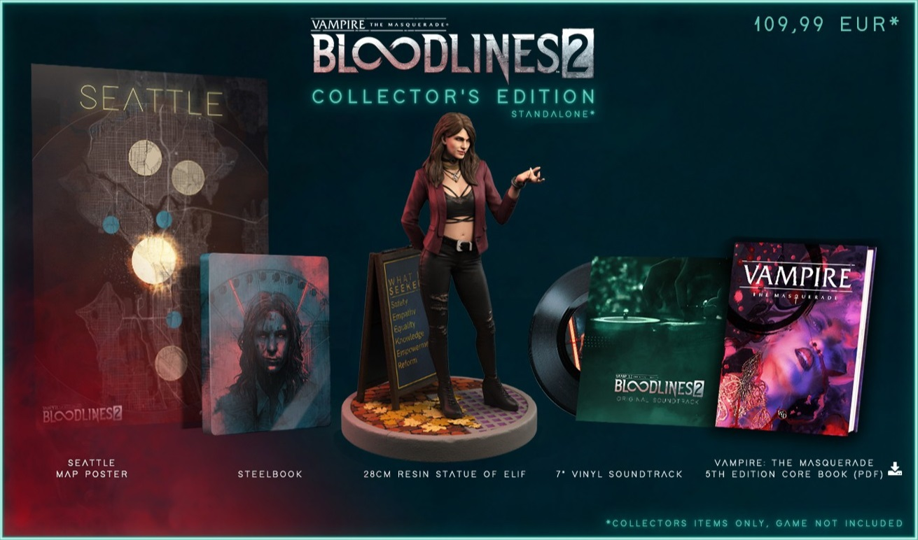 Vampire: The Masquerade - Bloodlines 2 - Collectors Edition (Standalone)