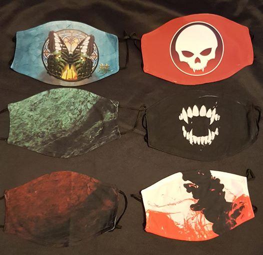 Masken, Changeling, Vampire, Werewolf, By Night Studios, Vampirfänge, Kunst