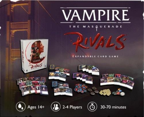 Vampire: The Maquerade - Rivals - Box- Ab 14+ Jahren, 2-4 Spieler, 30-70 Minuten