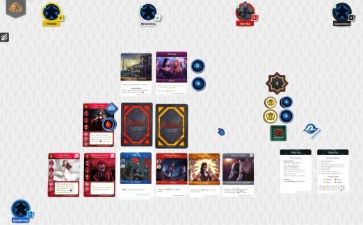 Vampire The Masquerade: Rivals - Screenshot von der Demo