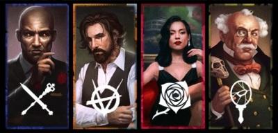 Vampire: The Maquerade - Rivals - Vampire (Ventrue, Brujah, Toreador, Malkavianer)