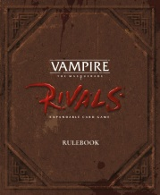 Vampire: The Maquerade - Rivals - Cover des Regelbuchs