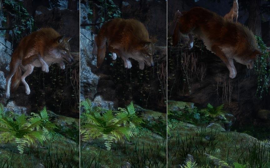 Werewolf: The Apocalypse Earthblood: Hupfender Wolf