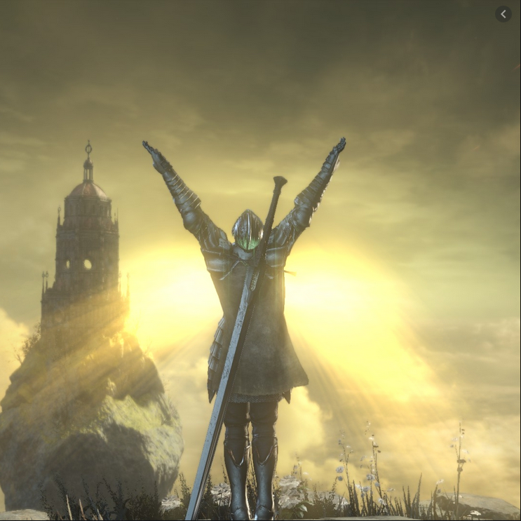 "Dark Souls, ""Praise the Sun""-Szene"