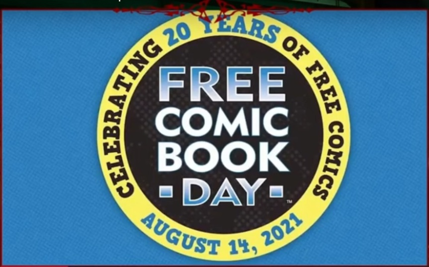 Free Comic Book Day - 14. August 2021