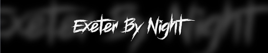 Exeter by Night - Banner des TikTok basierten Larp